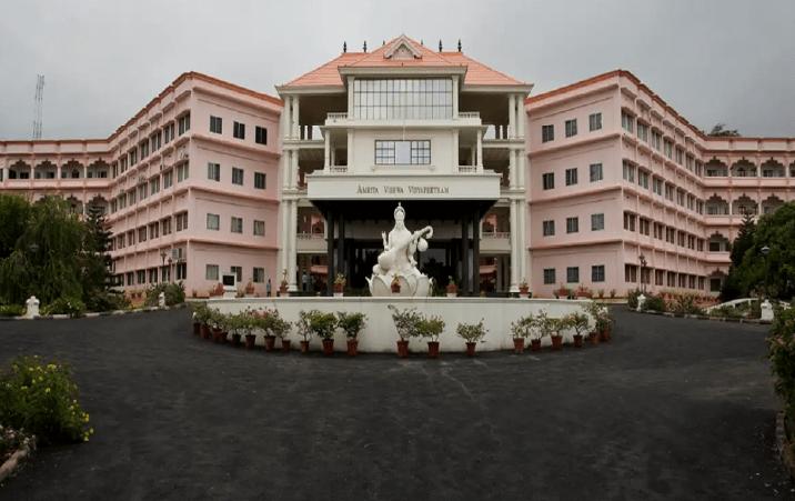 Amrita Vishwa Vidyapeetham only Indian university in world top 100 institutes