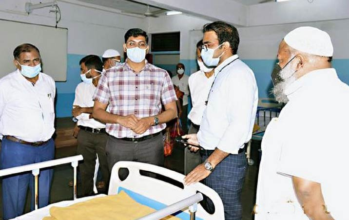 Education society takes up relief works for COVID 19 patients