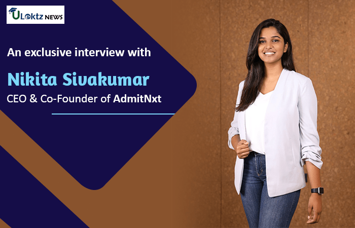Reimagining the Admission Process in India, in conversation with Miss Nikita Sivakumar
