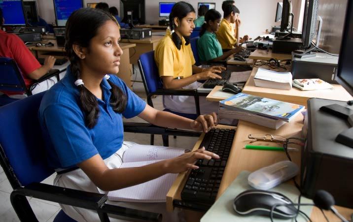 Indias transition to digital education