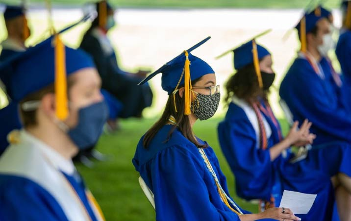 New Yorks latest vaccination incentive a full ride scholarship to a public state college.