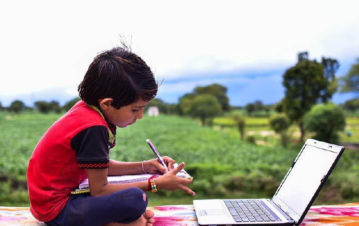 Online education in rural areas