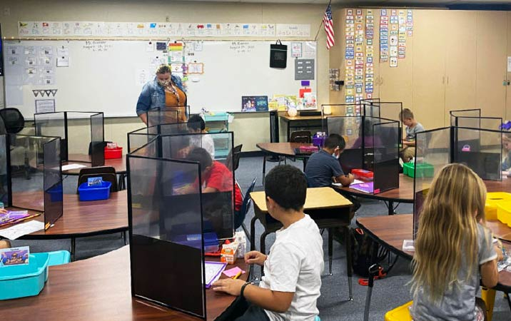 Rural regions swifter to return to in person school education than urban areas