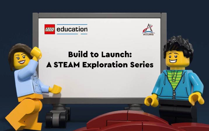 LEGO® Education and NASA Collaborate on 10 week Lesson Series for Engaging STEAM Learning