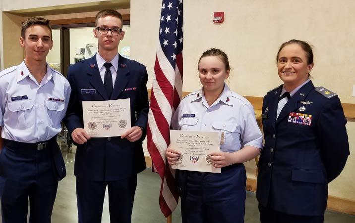 2021 EHS graduate receives Civil Air Patrol scholarship