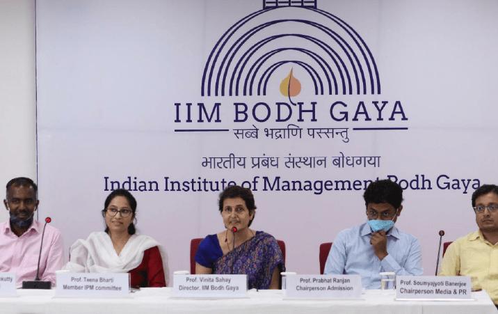 IIM Bodh Gaya Welcomes First IPM Batch Virtually
