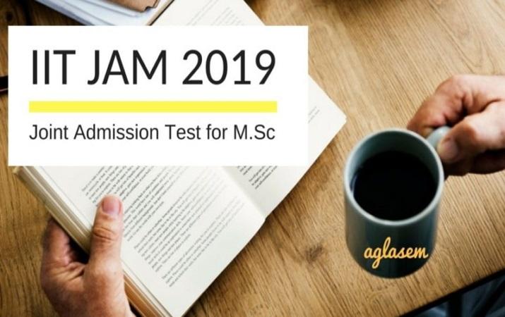 IIT JAM 2019 Aglasem Image