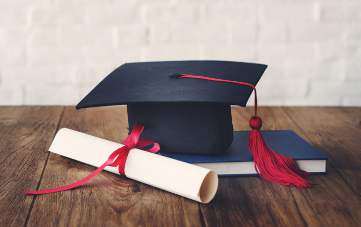 degree cap