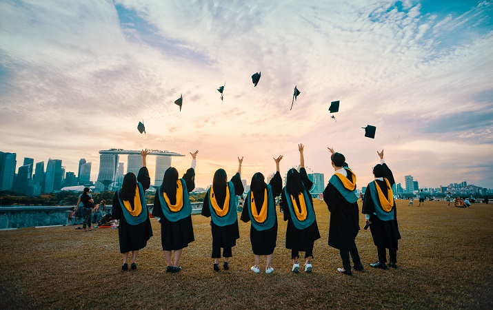 graduation degree cap